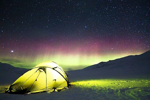天然純粹的森林之地-紮營欣賞極光之美
