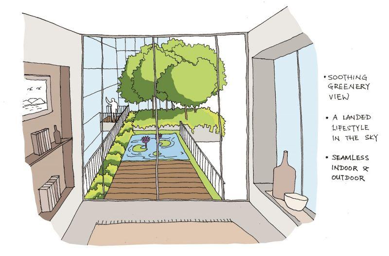 主题花园设计概念图