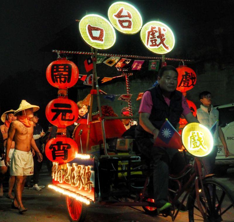 元宵節全台各地都有許多活動(圖片來源-黃郁仁)