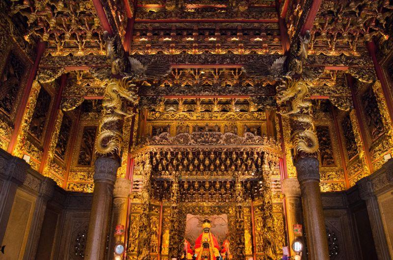 三峽清水祖師廟有「東方藝術殿堂」之稱(圖片來源-欣傳媒)