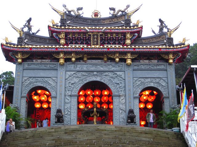 指南宮為台灣道教聖地,主祀八仙中的呂洞賓而得名(圖片來源-Ken Marshall)