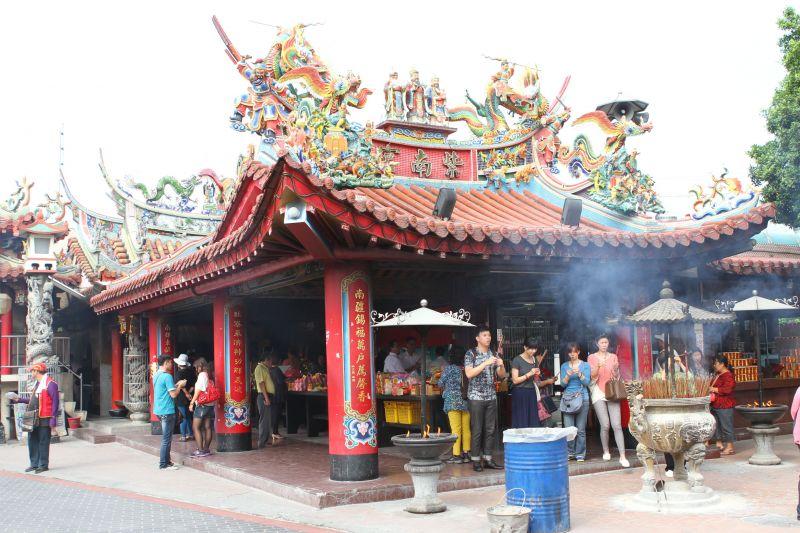 車城福安宮是中部知名財神廟(圖片來源-欣傳媒)