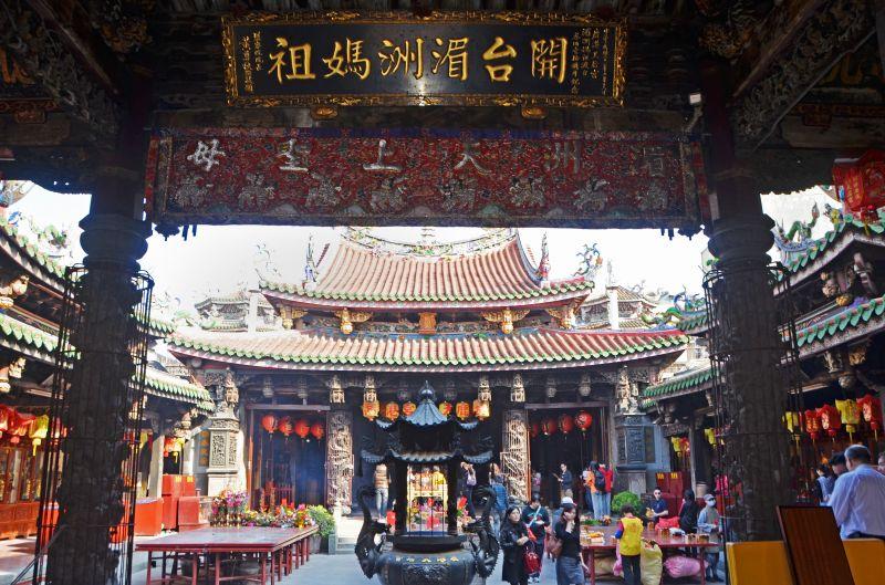 鹿港天后宮創建於明末清初,是台灣唯一奉祀湄洲祖廟開基媽祖神尊的廟宇(圖片來源-欣傳媒)