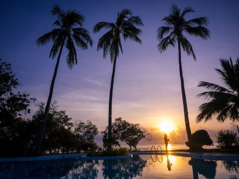清晨的巴拉望(圖片來源:許詩美 攝)