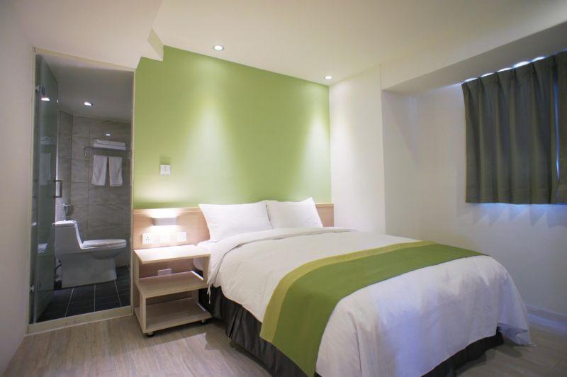 「城市」和「旅人」能共同行光合作用為出發點、貫穿整體設計的葉綠宿旅館