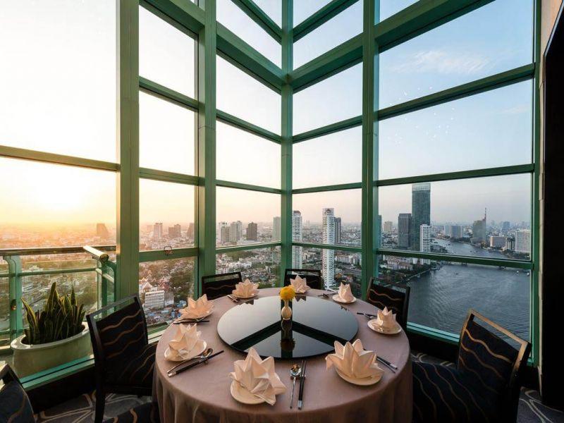 Chatrium Hotel Riverside Bangkok(察殿曼谷河畔豪華酒店)提供的早餐在房客的評價上十分優越,能一邊欣賞河景,一邊享受美味早餐。