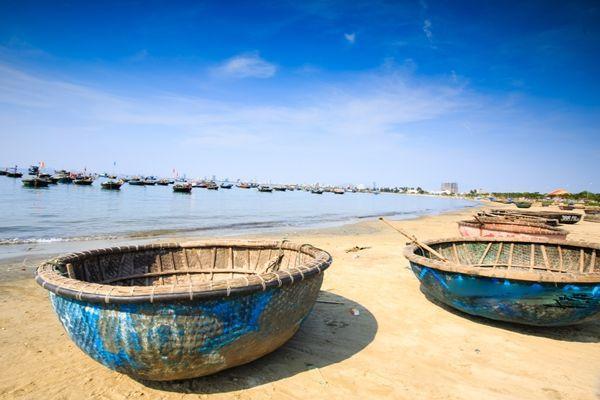 越南 迦南岛「桶船」特技!