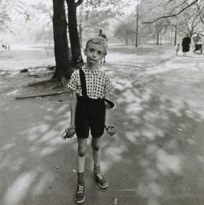 Child with a Toy Hand Grenade in Central Park, N.Y.C., 1962 via artnet.com