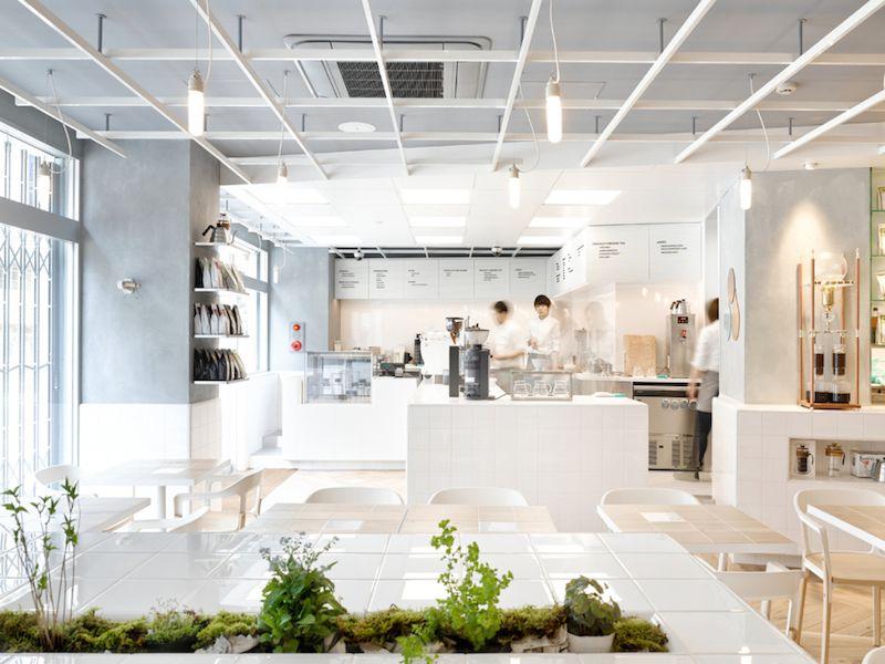 日本小清新 實驗室風格咖啡廳 Parisian Coffee 欣日本 欣傳媒旅遊頻道