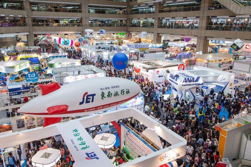 每年ITF台北國際旅展都會湧入大批人潮,今年屆滿30歲,現場活動熱鬧可期!(欣傳媒資料照片)