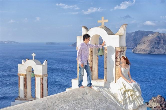 [希腊摄影讲座] 邱少自拍婚纱照心得分享图片