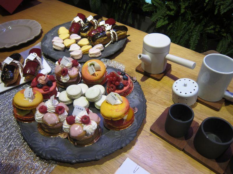 〔小茶栽堂〕以茶为概念的法式甜品店图片