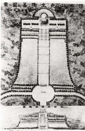 1925年31岁时赢得《南京中山陵》竞图,并於赢得竞图后两日,成立彦记图片