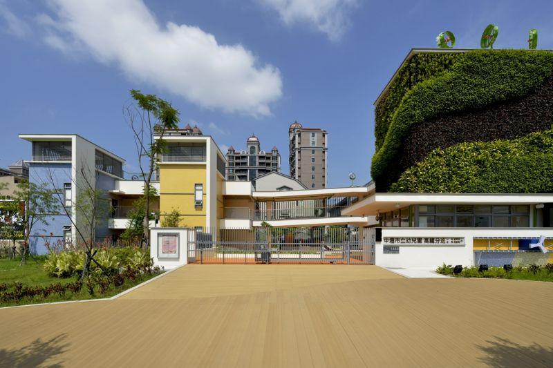 卢俊廷建筑师作品—「中坜市立幼儿园高铁分班」图片