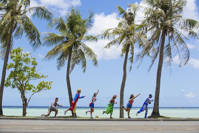 万圣前夕换上超人装,关岛国际马拉松即将开跑!