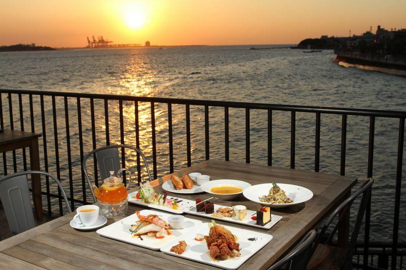 一邊賞夕陽,一邊吃美食,親子遊也能這麼奢侈!(劉宸嘉攝影)