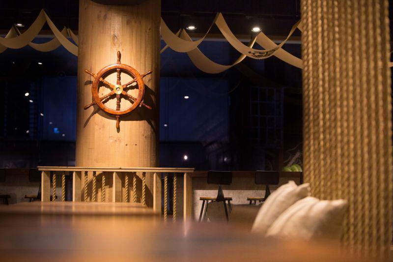 餐廳空間。(《台灣航海王》餐廳提供)