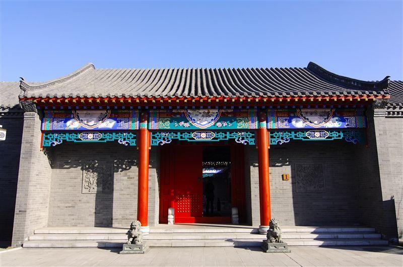 御景山溫泉還建有四合院式獨棟別墅,傳統四合院融合現代化住宿。