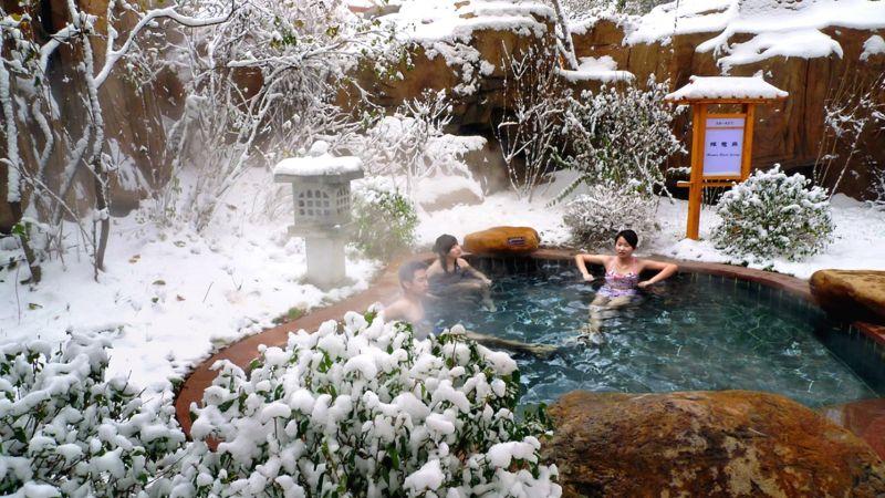 天沐營口熊岳度假區的泉質,被譽為「東北第一泉」