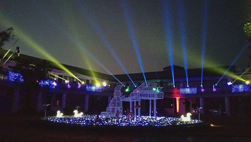 絢爛的燈光音樂秀準備好跟大家一起嗨翻聖誕/圖 屏東縣政府提供