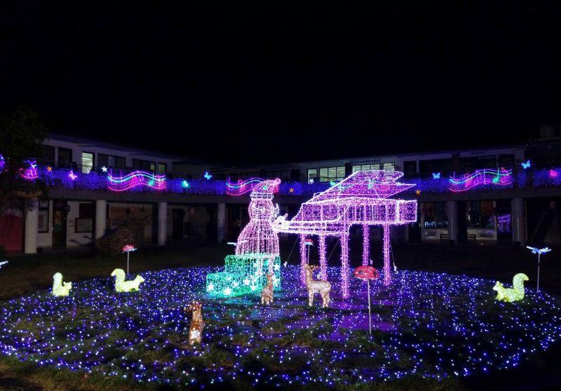 萬金聖誕季閃耀點燈/圖 屏東縣政府提供