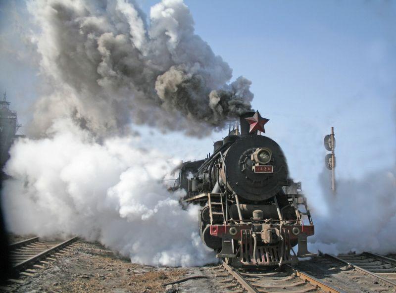 蒸汽在低溫最明顯。(圖片來源:遼寧省旅局)