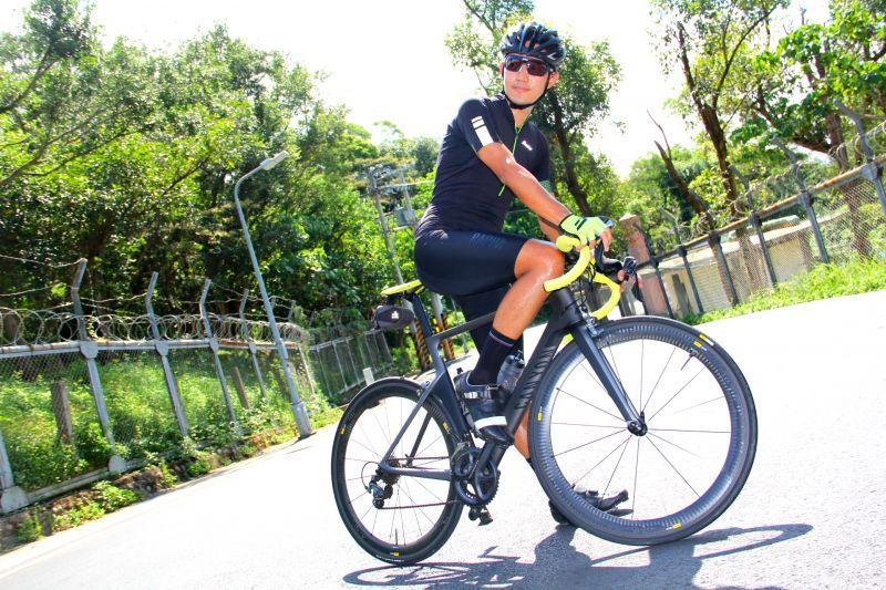 這幾年在自行車三大賽表現亮眼的CANYON終於出現實測文啦!腦粉們還不趕快拜讀個仔細!(蔡克辰攝)