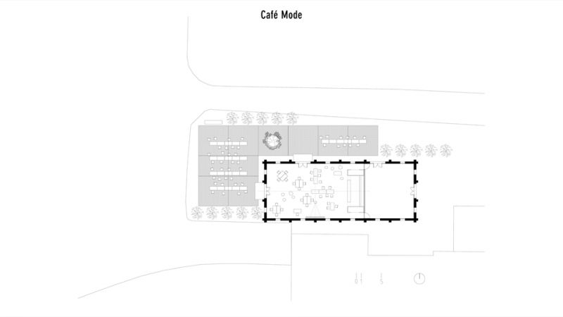 咖啡模式;圖片提供/究境建築