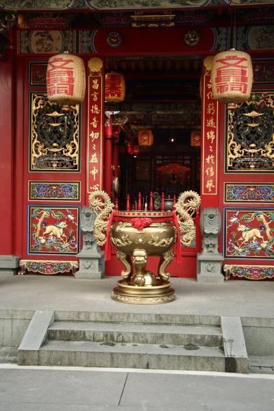 傳藝中心的文昌祠,是全台第一座由政府興建的廟宇(圖片來源-欣傳媒)
