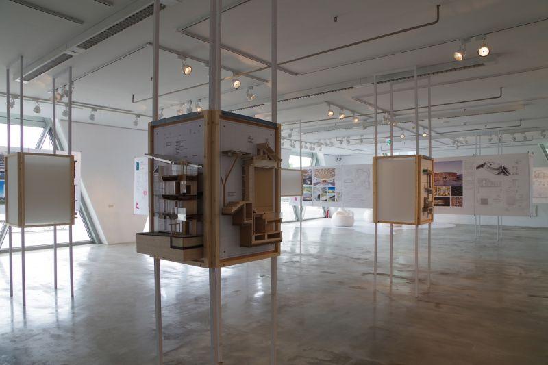 2016實構築展展場;攝影:王進坤