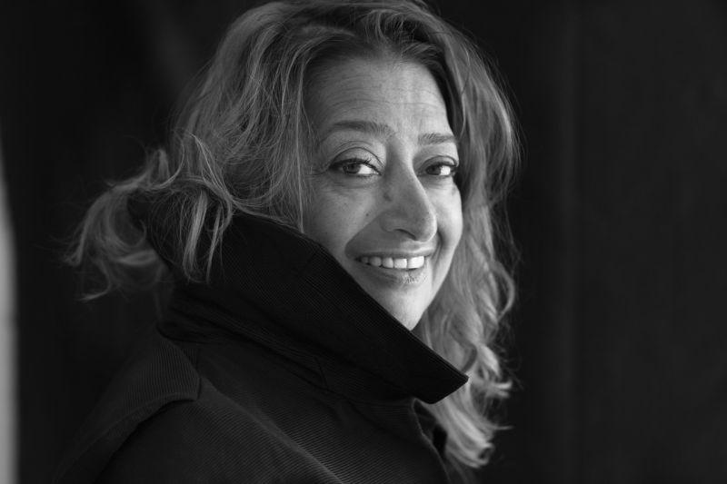 Zaha Hadid;攝影:Brigitte Lacombe