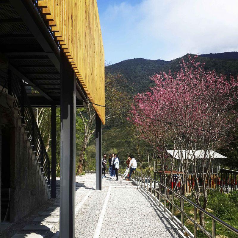 福山教堂 木格柵 ;圖片提供/無有設計