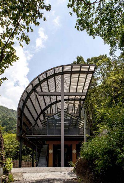 福山教堂 外觀立面;圖片提供/無有設計