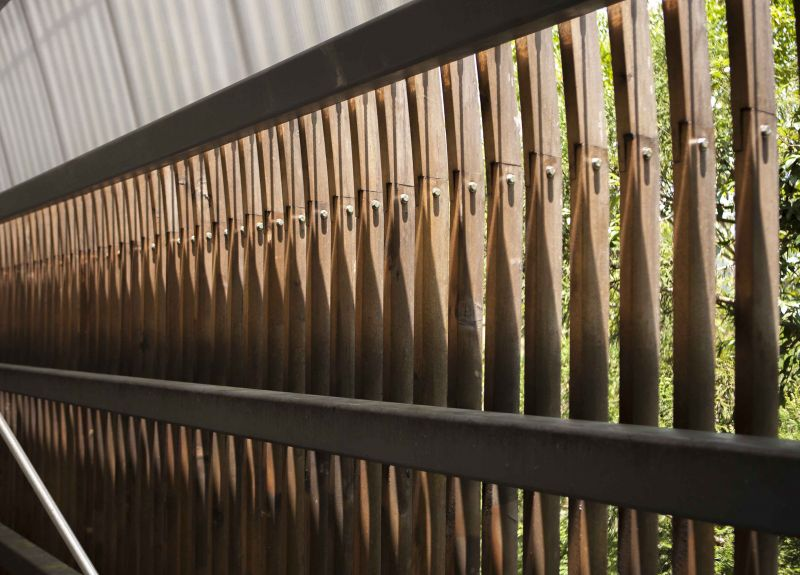 福山教堂 木格柵;圖片提供/無有設計