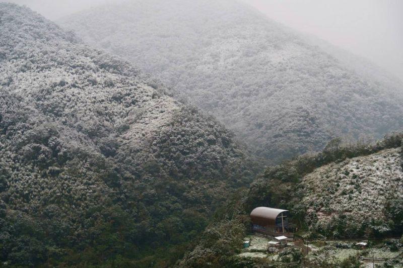 福山教堂 雪景;圖片提供/無有設計
