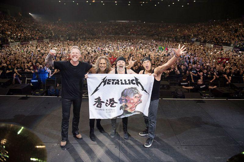 現場回顧:金屬狂人「Metallica 香港演唱會」