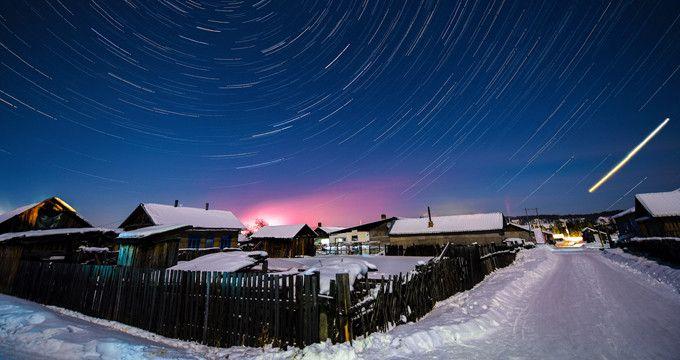 中國少見有極晝、極夜的地區-漠河北極村(圖片來源www.lis99.com)