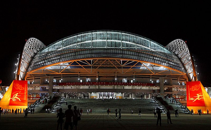 瀋陽奧體中心是08年京奧舉辦足球項目的場地。