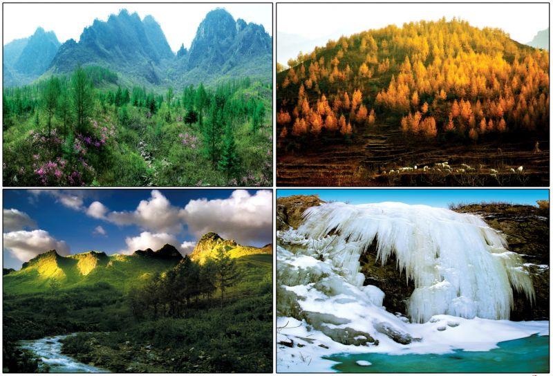 哈大高鐵經過的遼寧-營口,四季皆是美景。