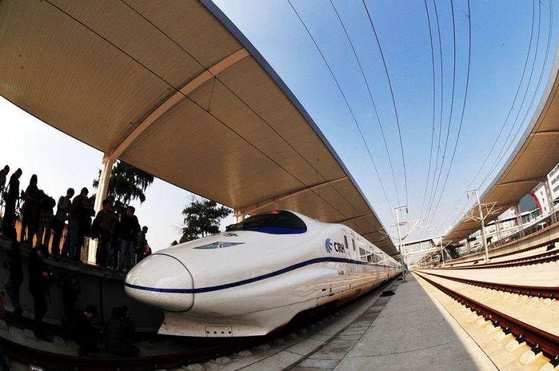 到中國旅行最方便、舒適的移動方式就是搭乘高鐵。(圖片來源mapio.net)