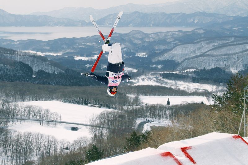 (圖片來源:FIS Freestyle Ski WORLD CUP in Tazawako Akita Organizing Committee)