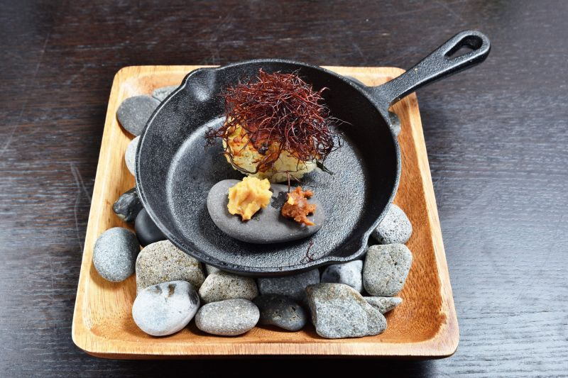 agréable 餐廳—以在地食材創作的燉飯料理獨具風土滋味。(Photo|劉宸嘉)