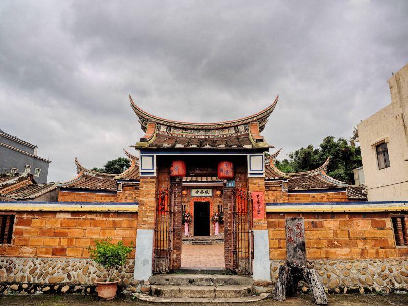 百年傳統古蹟,悠現老宅文化之美。(攝影/劉宸嘉)