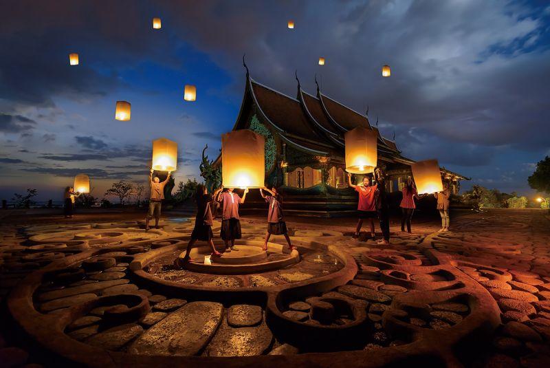 除了水燈,天燈盛會更是受國際注目的大型慶典。(Photo│ shutterstock)