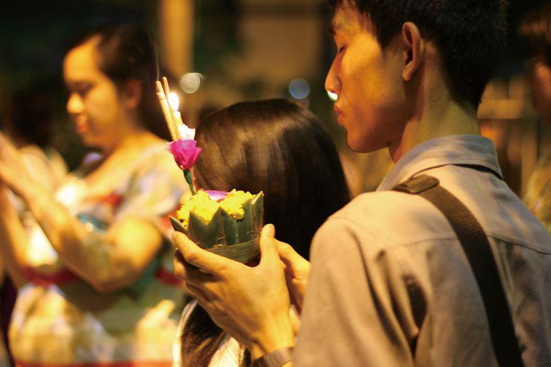 水燈節在泰國人心目中,重要性僅次於潑水節。(Photo│ shutterstock)
