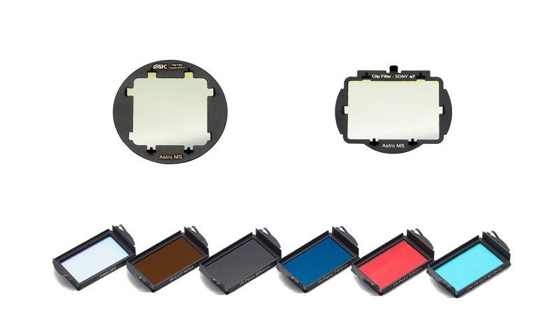全系列 CLIP FILTER 商品,新發表 SONY Α7 和 CANON APS-C 圖/STC提供