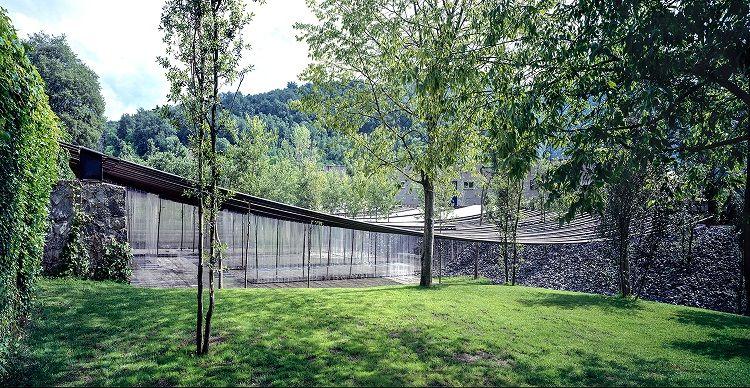 Les Cols Restaurant Marquee;圖片提供/2017 The Pritzker Architecture Prize