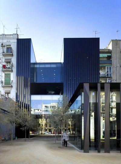 Sant Antoni – Joan Oliver Library;圖片提供/2017 The Pritzker Architecture Prize
