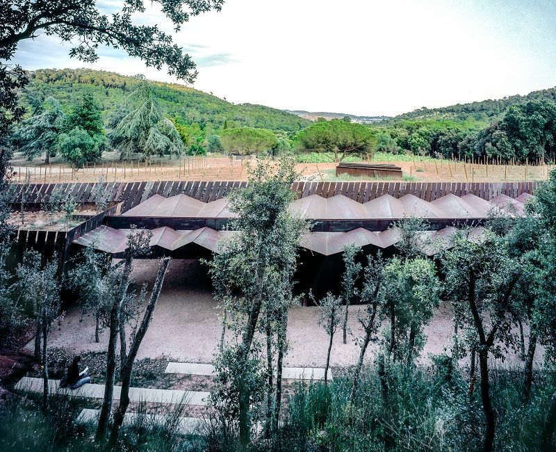 Bell–Lloc Winery;圖片提供/2017 The Pritzker Architecture Prize