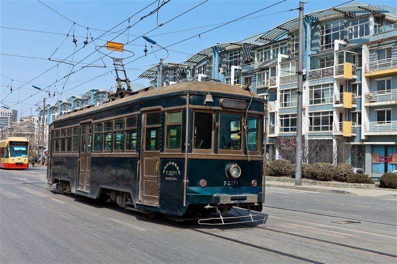 特別推薦大連的百年有軌電車,真正充滿大連特色的體驗。